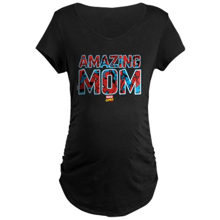 CafePress - Spider-Man Mom Maternity T-Shirt - Maternity Dark - Cafepress Maternity Halloween Shirts