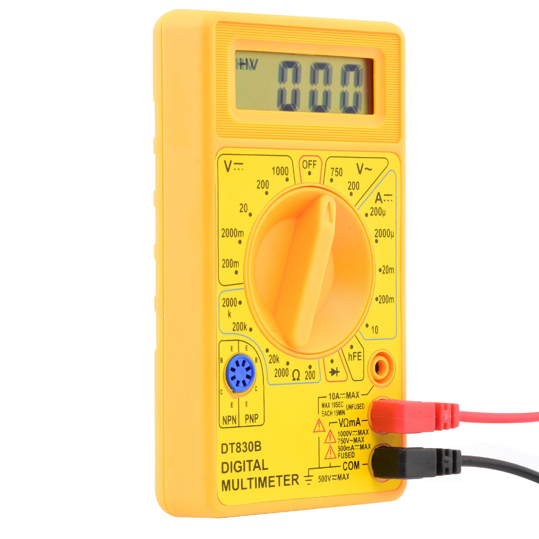 Cllena Digital Multimeter Current Tester /& Voltage Tester for Boat Marine Ve