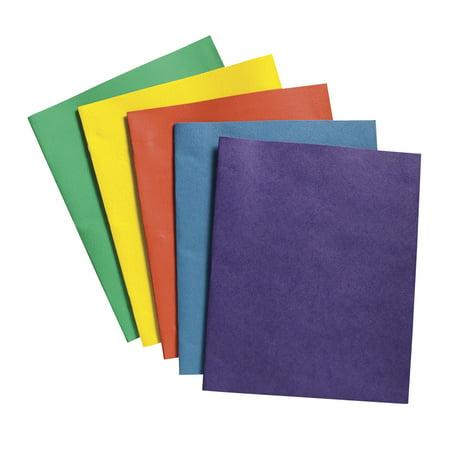 Cold Steel Folders (School Smart Heavy Duty Leatherette-Pocket Folder, 9.5