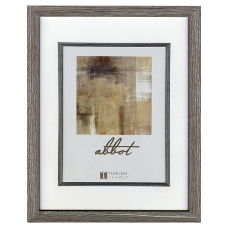 Timeless Decor Abbot Gray Picture Frame, 5 x 7 to 8 x 10 Inches