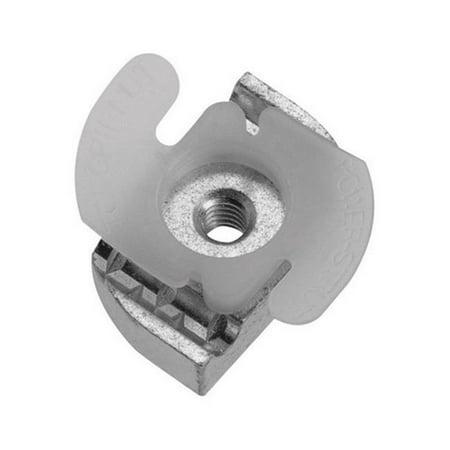 RP1006T1420EG 0.25 in. 20 Thread Strut Top Grip Clamping Nut