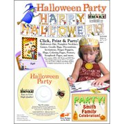 ScrapSMART Halloween Party: Decorations, Crafts, Scrapbook and Coloring Pages CD-ROM