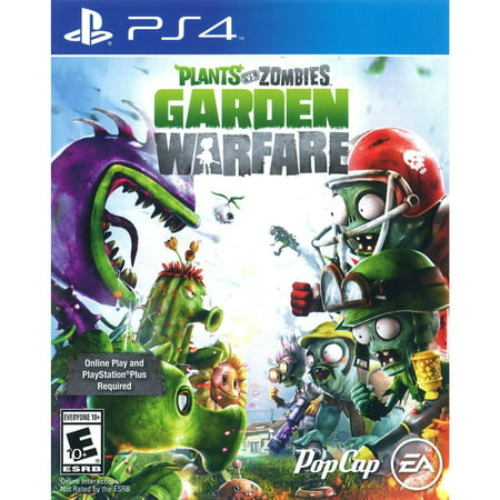 Plants vs Zombies: Garden Warfare (PS4) Electronic Arts - Walmart.com