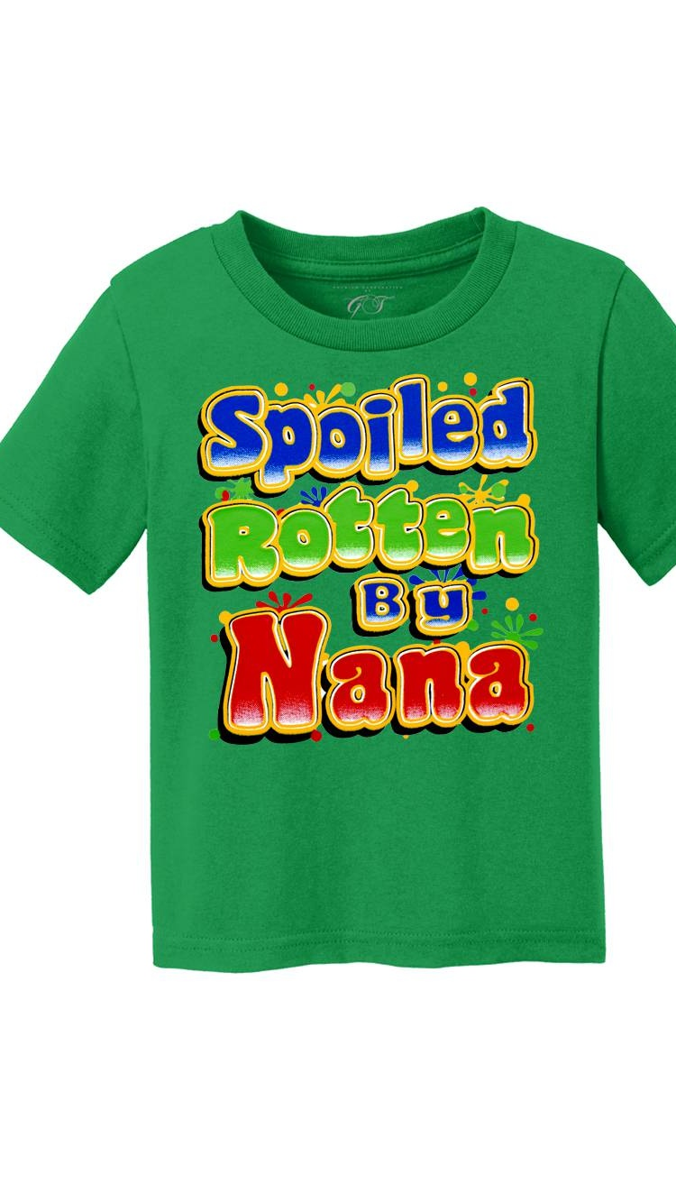 inktastic I My Nana Under My Spell with Cute Witch Hat Toddler T-Shirt