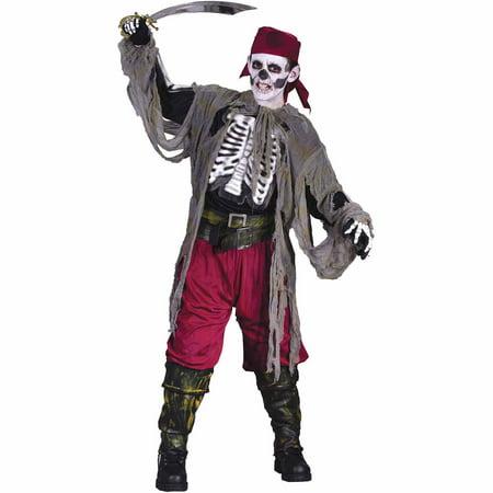Buccaneer Bones Child Medium Costume