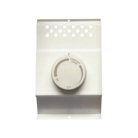 White Rodgers Cadet Heating and Cooling Dial Single Pole Thermostat (Thermostat Dial)