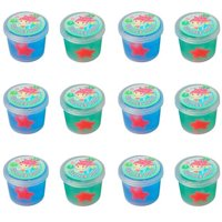Mermaid Glitter Ooze Putty / Favor (12ct)