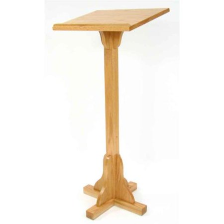 Executive Wood Floor Lectern Wood Podium  picture