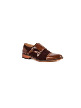 f08547b294c Product Image Gino Vitale Men s Double Monk Strap Two-Tone Loafer