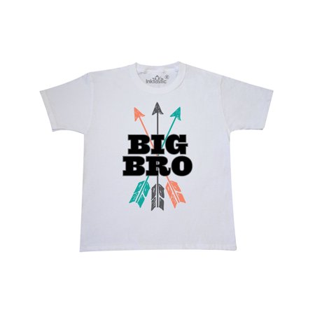 Big Bro Arrow Native Boys Brother Announcement Youth T-Shirt