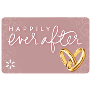 Wedding Happily Ever After Walmart eGift Card