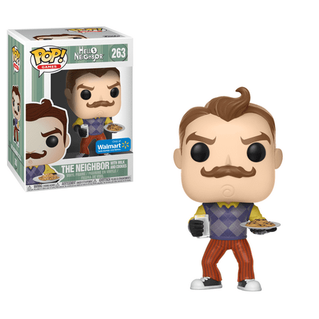 Funko POP! Games: Hello Neighbor - Neighbor with Milk and Cookies