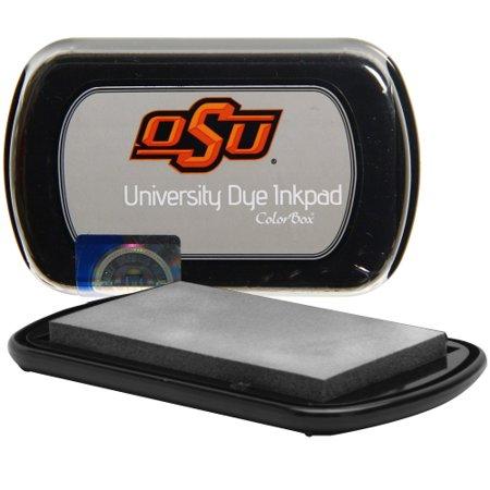 Oklahoma State Cowboys Colorbox Dye Inkpad - Silver - No Size