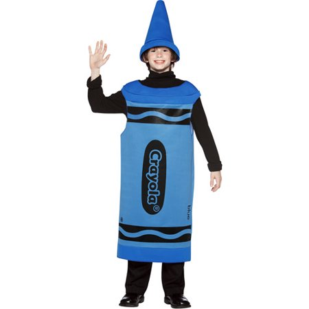 Crayola Blue Tween Halloween Costume, Size: Teen Girls' - One Size