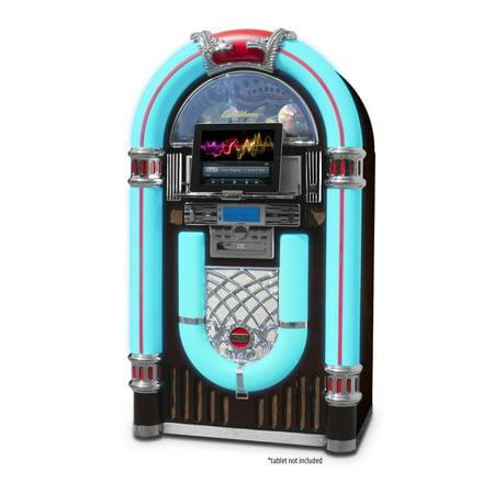 Electrohome Kinsman Jukebox with CD Player, FM Radio, USB
