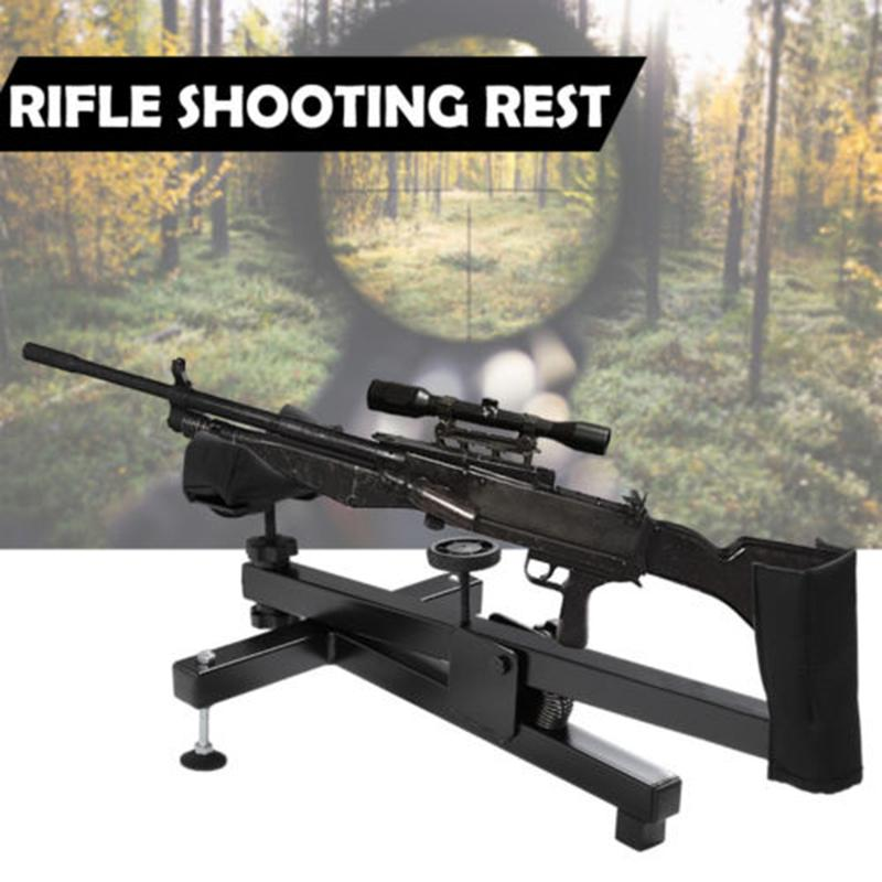 Walfront Shooting Rest Rifle Air Gun Shoot Bench Sighting Benchrest Steady Padded Stand Shooting Rest Rifle Rest Stand Walmart Com Walmart Com