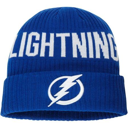 Tampa Bay Lightning Fanatics Branded True Classic Bold Cuffed Knit Hat - Blue - OSFA