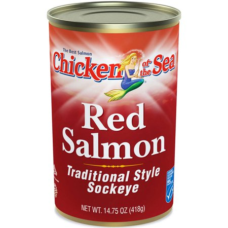 Chicken of the Sea Red Salmon 14.75 ounces (5 Ounce Salmon)