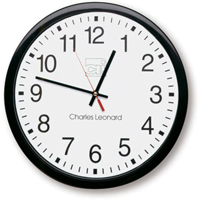 Charles Leonard CHL76820 Battery Operated Wall Clock