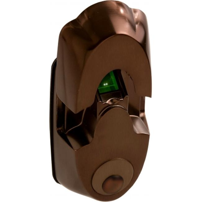 Actuator Systems NEXTBOLT-NX4 Oil Rubbed Bronze (ORB) biometric secure-mount biometric deadbolt