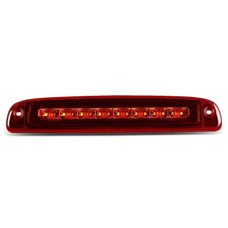 01 Awd Brake - For 97-10 Dodge Dakota Rear High Mount LED 3rd Brake / Cargo Light (Red Lens) 98 99 00 01 02 03 04 05 06 07 08 09