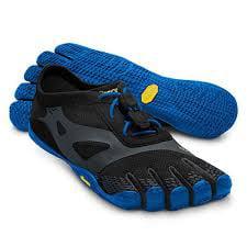 pretty nice 1412c 5084a Vibram Five Fingers Men s 47 14M0703 KSO EvoShoes Black Blue in ...