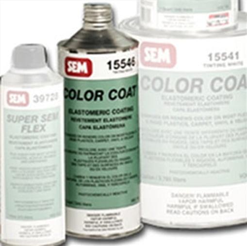 COLOR COAT-Tinting White- Cone Top Quart Can SEM Products 15546 SEM LP
