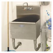 A-Line by Advance Tabco 22'' x 20'' Single Wall Mounted Utility Sink
