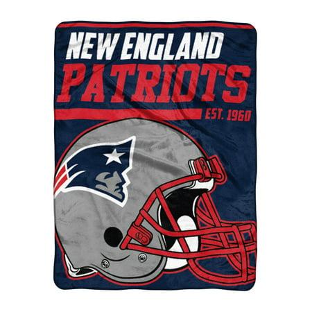 "NFL New England Patriots ""40-Yard Dash"" 46""x 60"" Micro Raschel Throw"