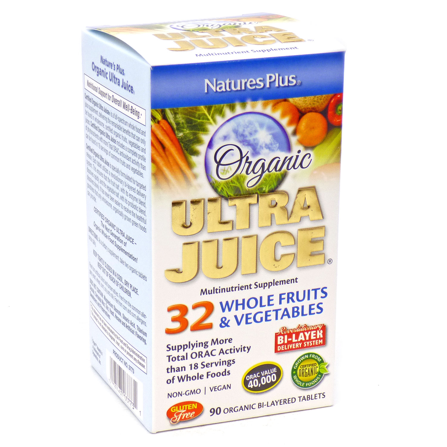 Ultra Juice Bi-Layered by Nature's Plus 90 Tablets