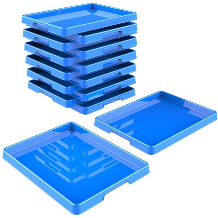 Storex  Sorting and Crafts Tray, 12 x 16 Inches, 12-Pack ()