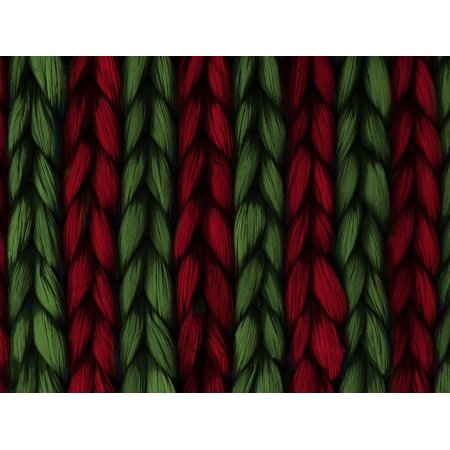 Canvas Print Background Green Texture Weave Red Plait Pattern Stretched Canvas 10 x 14 Textured Weaves Pattern