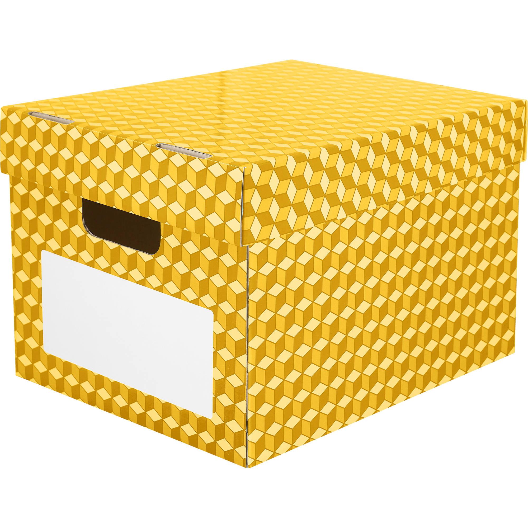 Corrugated File Totes, Set of 6