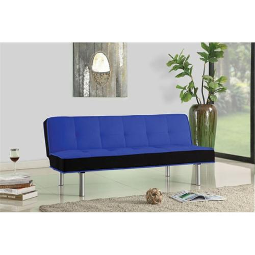 ACME Furniture Hailey Fabric Sofa in Blue and Black
