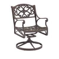 Biscayne Bronze Swivel Dining Chair