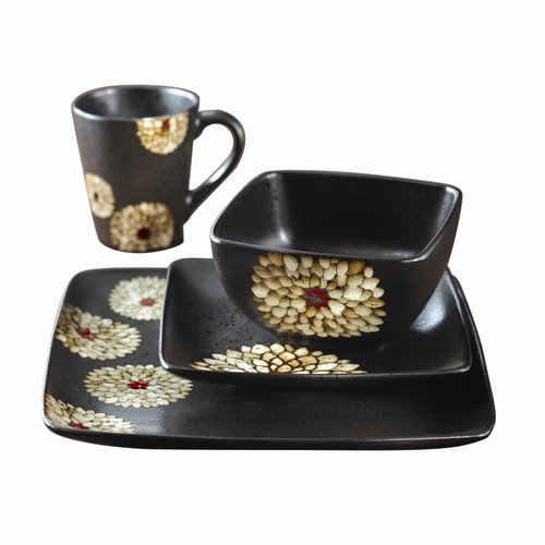 Design Guild Asiana 16 Piece Dinnerware Set