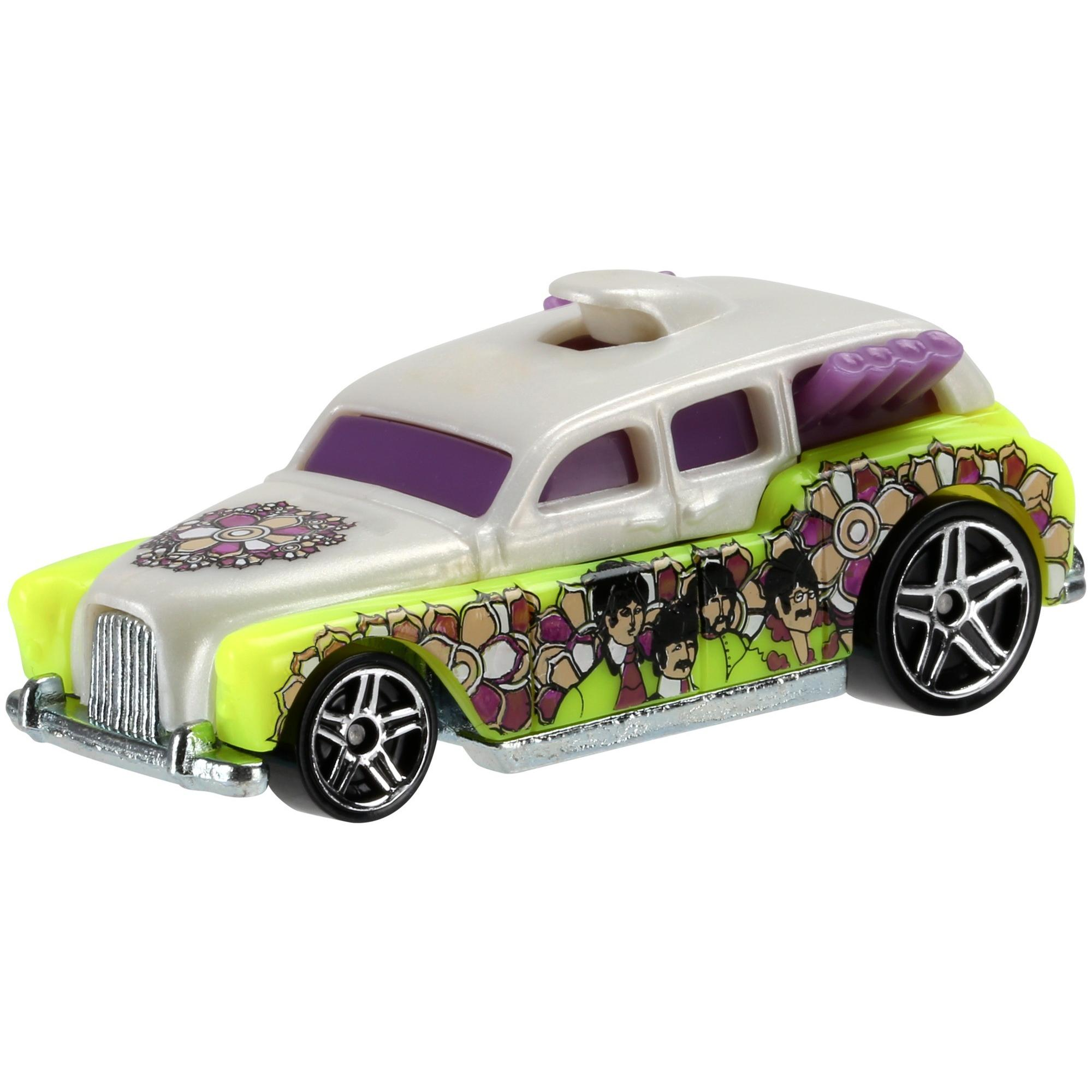 Hot Wheels Beatles Yellow Submarine Collection (Styles May Vary) by Mattel