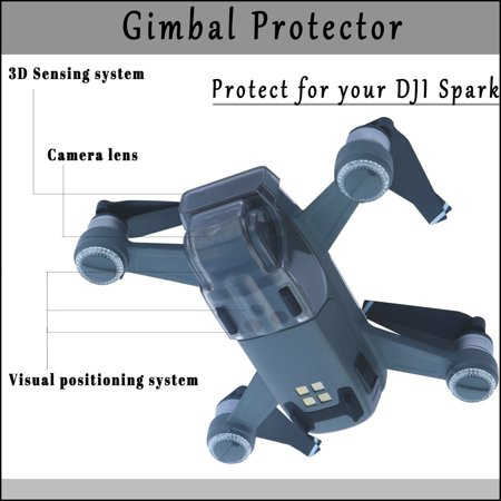 Outtop New Sensor Gimbal Camera Protector Guard Lock Cover Hood Cap For DJI Spark Drone