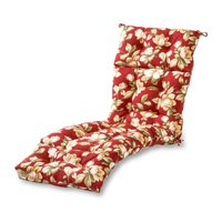 Roma Floral 72 x 22 in. Outdoor Chaise Lounge Cushion