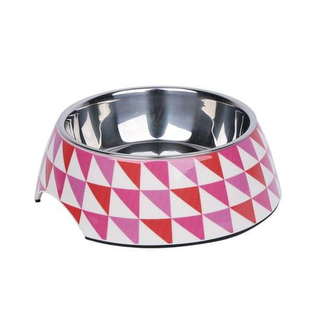 vibrant life melamine pet bowl set pink 11 oz. Black Bedroom Furniture Sets. Home Design Ideas