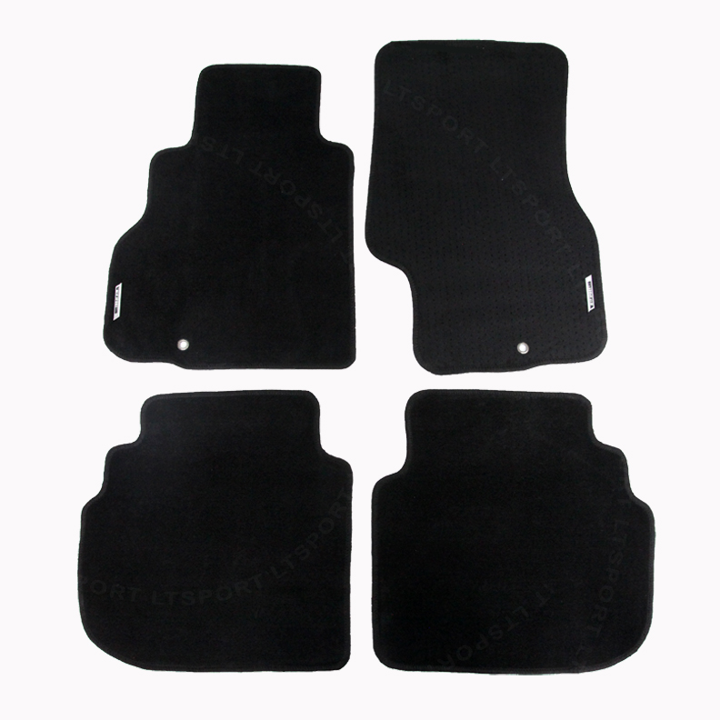 Black Coverking Custom Fit Front Floor Mats for Select Infiniti M35//M45 Models Nylon Carpet