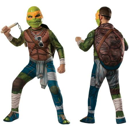 Boys Ninja Turtles Michelangelo Costume