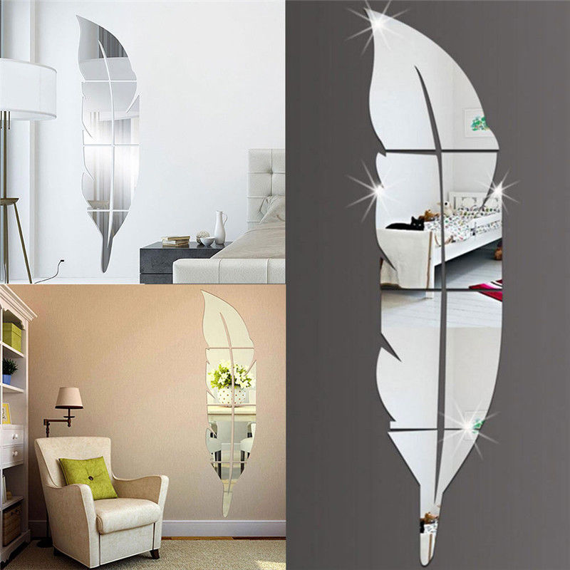 DIY Removable Home 3D Mirror Wall Stickers Decal Art Vinyl Room Decor Butterfly