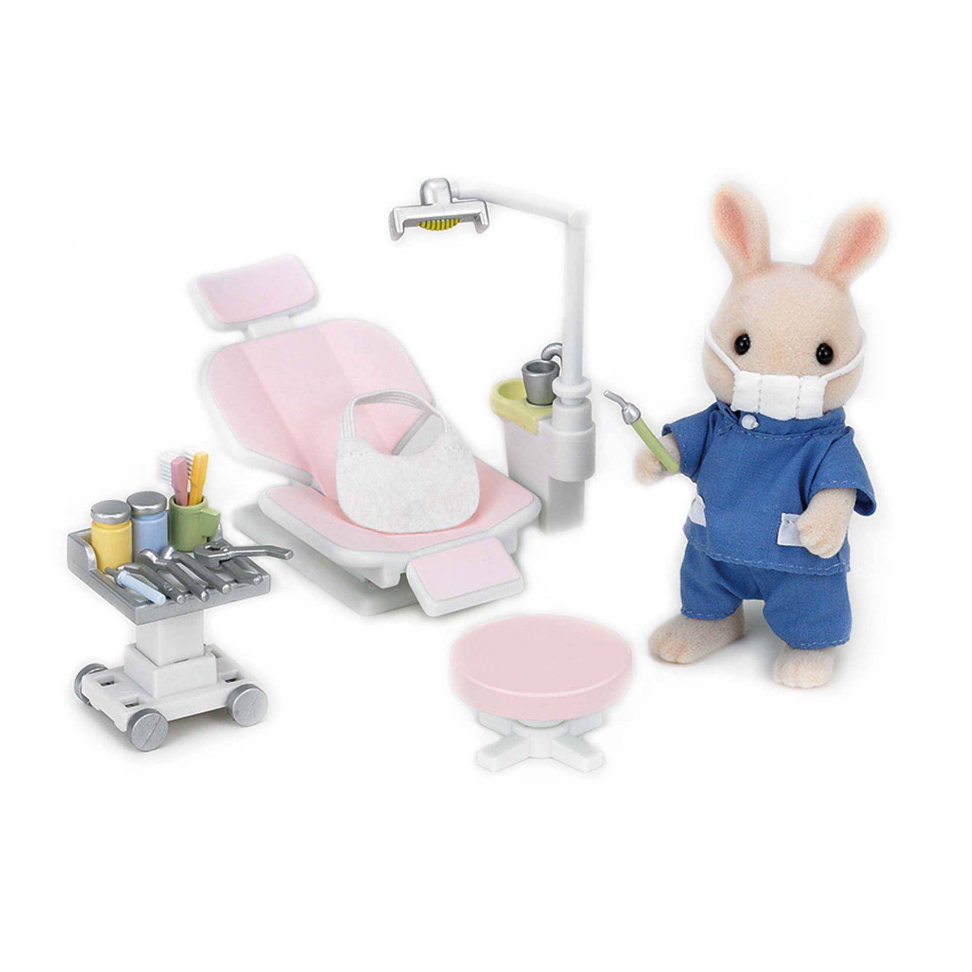 International Playthings Calico Critters Country Dentist Set