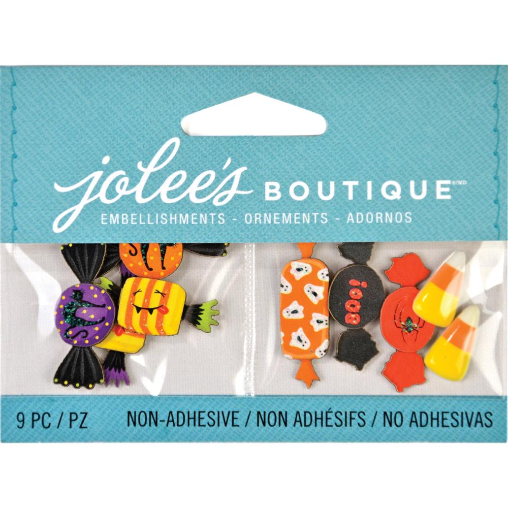 Jolees Boutique Seasonal Embellishments-Halloween Candy