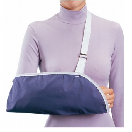 Procare Arm Sling  Blue Buckle Closure Small Cotton / Polyester, 1 Each