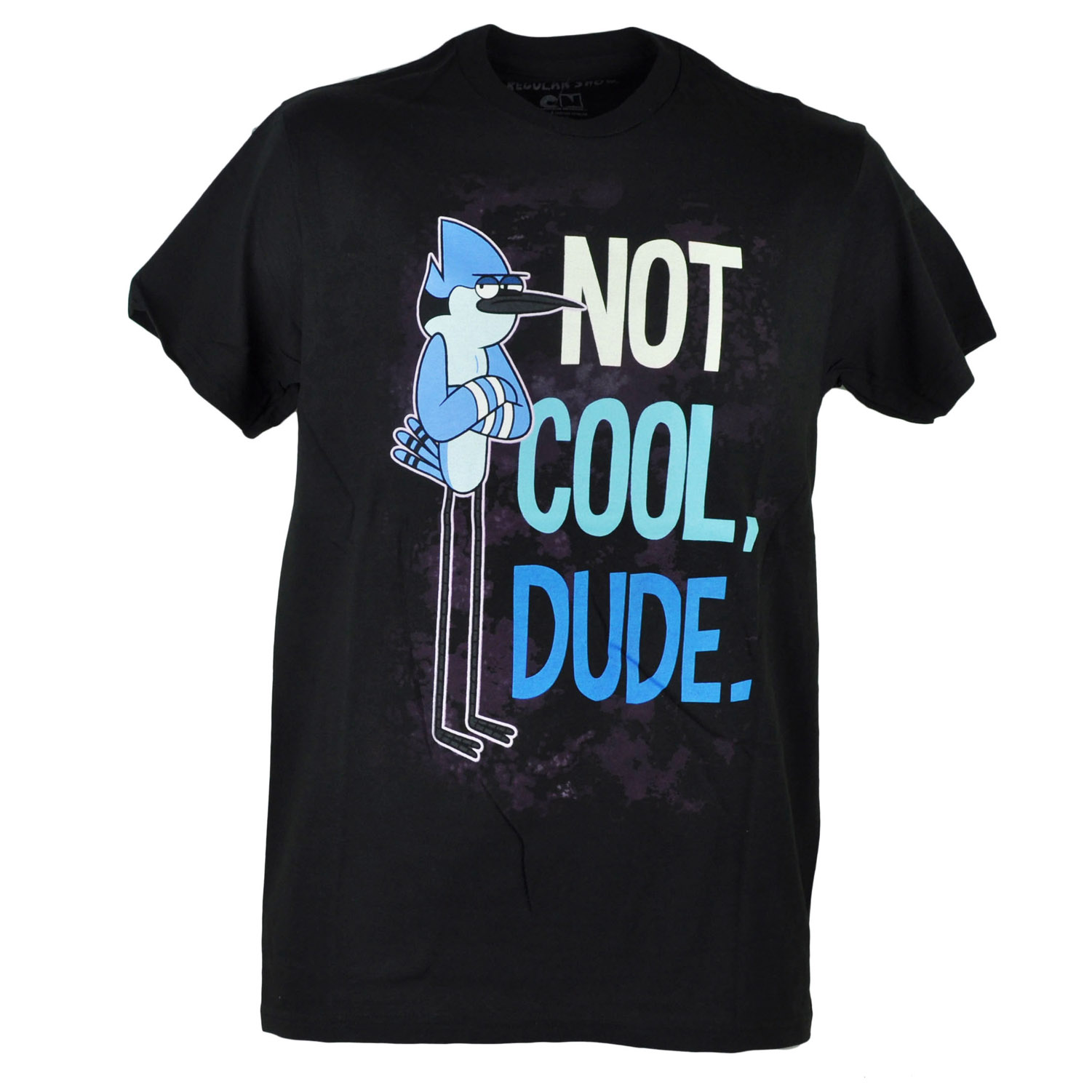 Regular Show Mordecai Not Cool Dude Graphic Tshirt Tee XLarge
