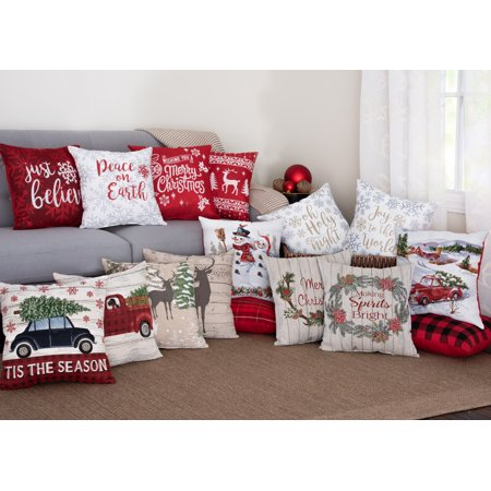 Product Image Holiday Decorative Throw Pillow Two Packs