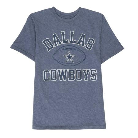 NFL Dallas Cowboys Big Men's Archie Short Sleeve Graphic Tee Shirt