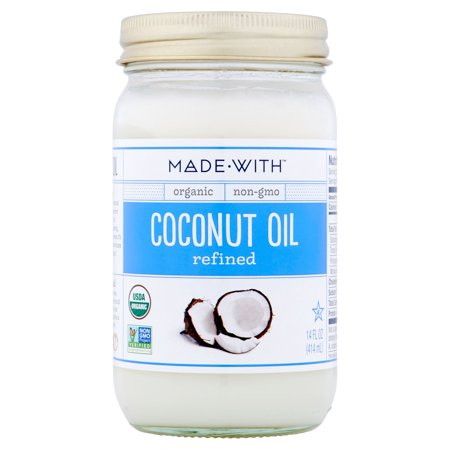 Made With Oil Coconut Refined Org,14 Fo (Pack Of 6)